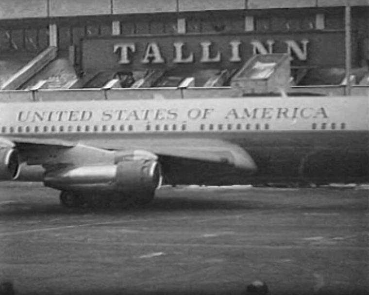 USA asepresident Tallinnas