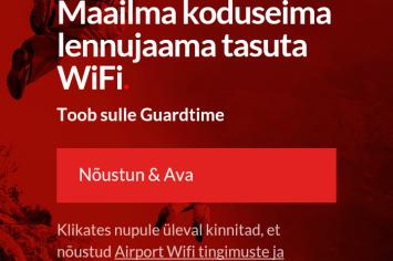 WiFi mobiil Guardtime