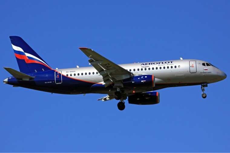 Aeroflot Sukhoi Superjet