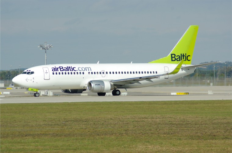 airBaltic lennuk