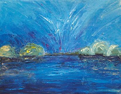 Elisa Jakobi maal Emotional landscapes