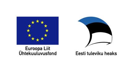 Euroopa Liit Ühtekuuluvusfond ja Eesti Tuleviku Heaks logo